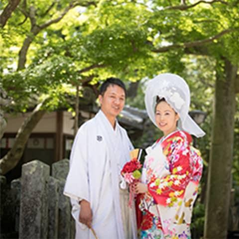 日本の美に触れることが出来る挙式
